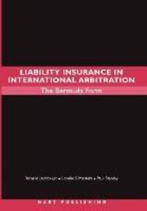 Liability Insurance in International Arbitration als Buch (gebunden)