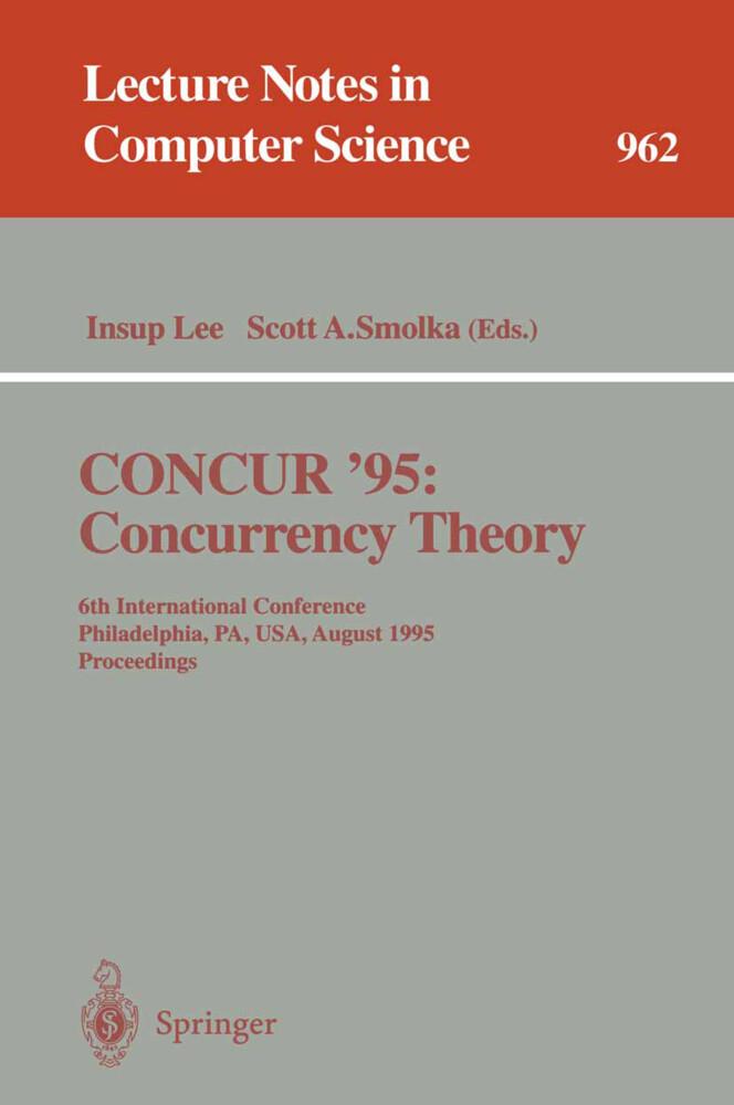 CONCUR '95 Concurrency Theory als Buch (kartoniert)