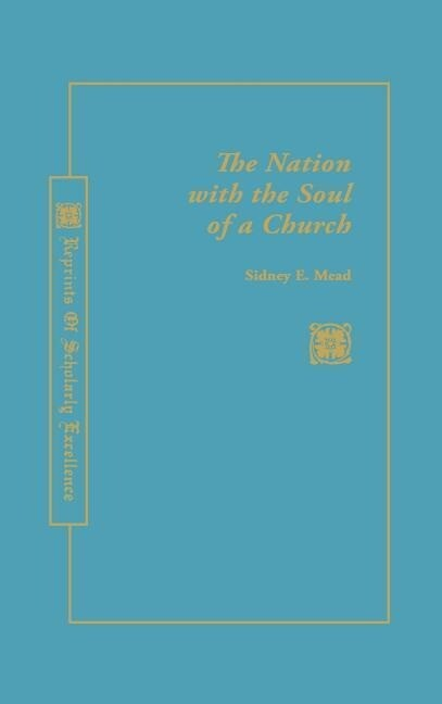 A Nation with the Soul of a Church als Buch (gebunden)