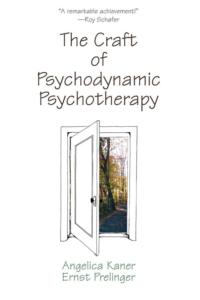 CRAFT OF PSYCHODYNAMIC PSYCHOTPB als Taschenbuch