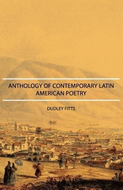 Anthology of Contemporary Latin American Poetry als Taschenbuch