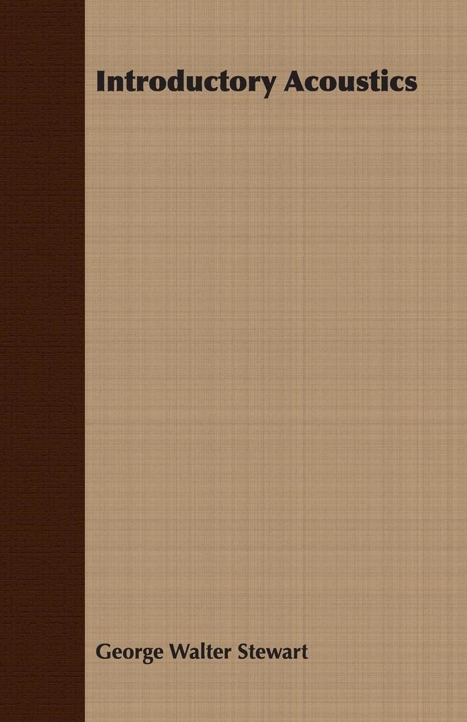 Introductory Acoustics als Taschenbuch