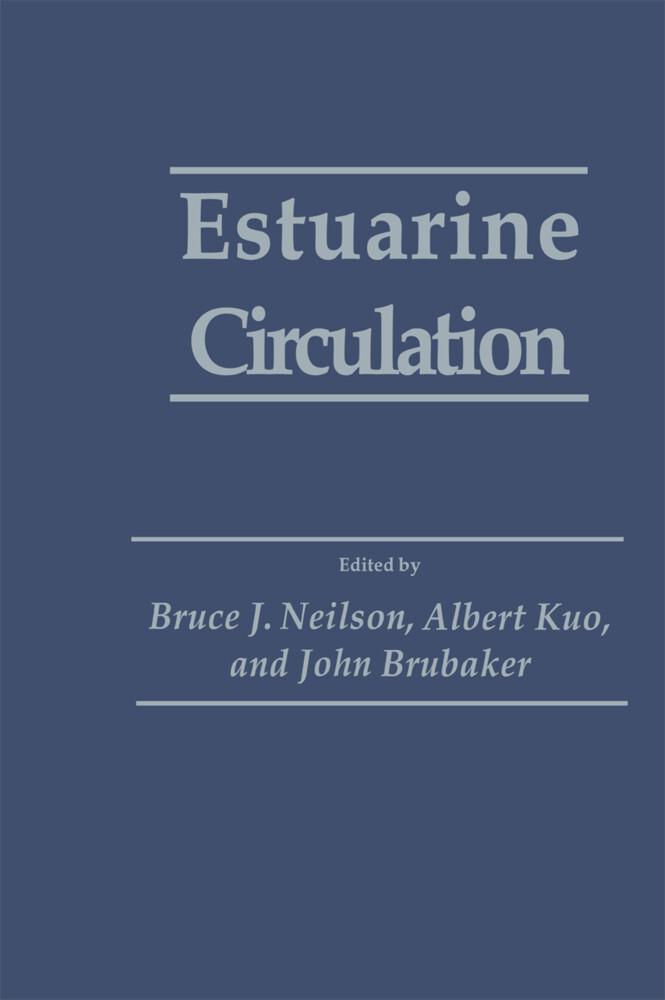 Estuarine Circulation als Buch (gebunden)