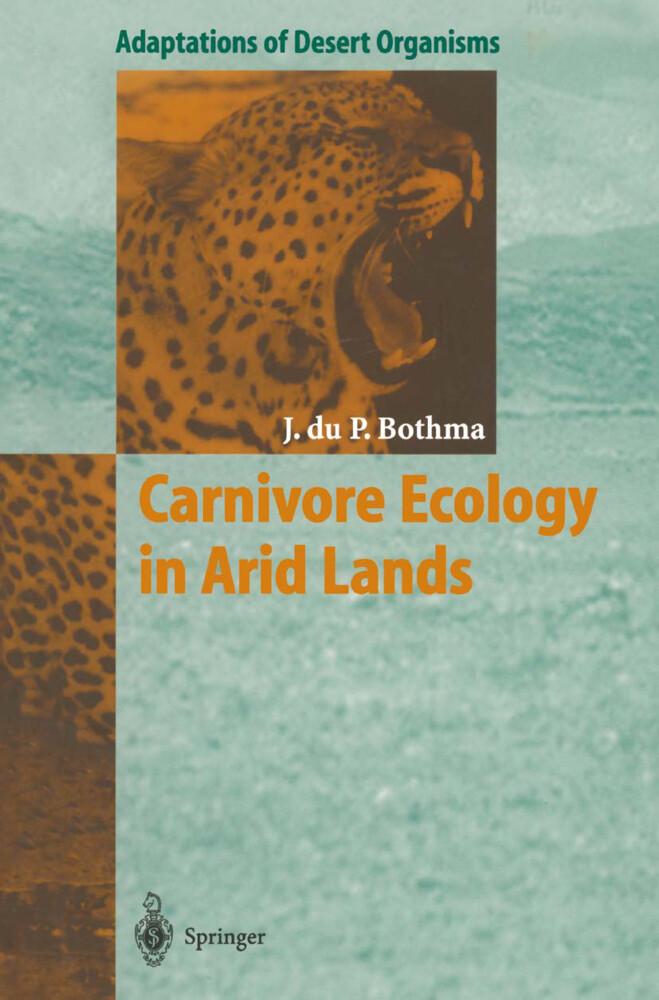 Carnivore Ecology in Arid Lands als Buch (gebunden)
