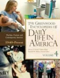 The Greenwood Encyclopedia of Daily Life in America [4 volumes] als Buch (gebunden)