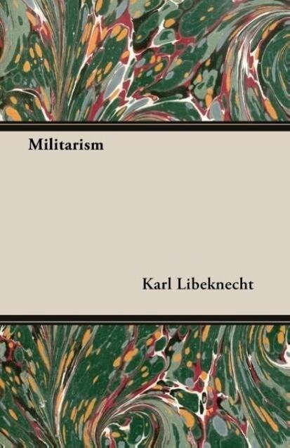 Militarism als Taschenbuch