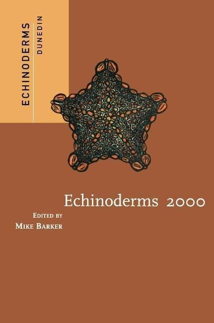 Echinoderms 2000 als Buch (gebunden)