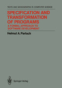 Specification and Transformation of Programs