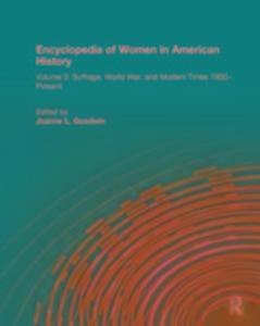Encyclopedia of Women in American History als Buch (gebunden)