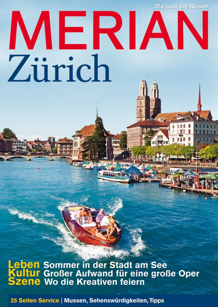 Merian Zürich als Buch (kartoniert)