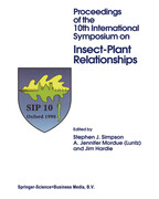 Proceedings of the 10th International Symposium on Insect-Plant Relationships