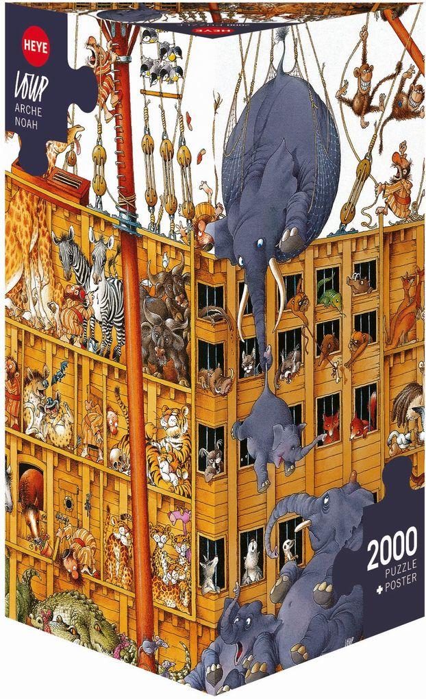 Loup Arche Noah. Puzzle 2000 Teile als Spielware