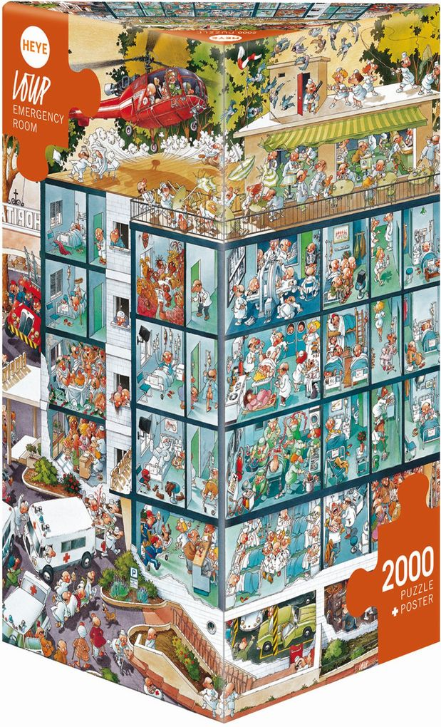 Emergency Room. Puzzle 2000 Teile als Spielware