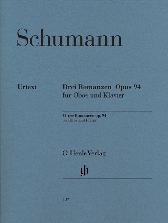 Romanzen für Oboe (oder Violine oder Klarinette) und Klavier op.94, Fassung für Oboe als Blätter und Karten