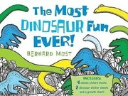 The Most Dinosaur Fun Ever! [With 2 Sticker Sheets and Growth Chart]