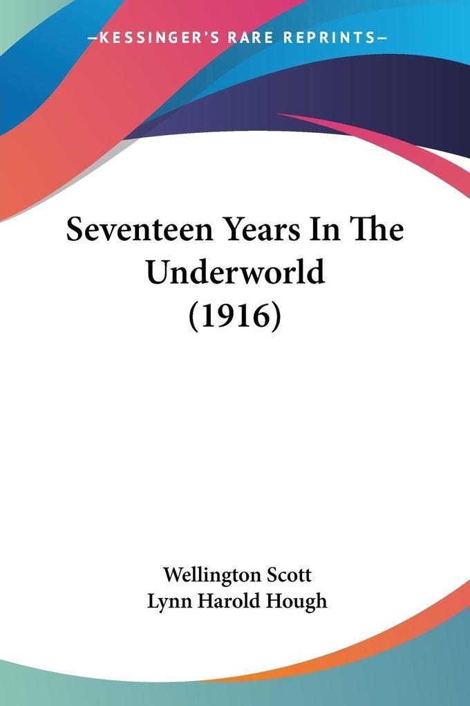 Seventeen Years In The Underworld (1916) als Taschenbuch