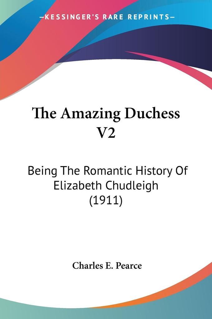 The Amazing Duchess V2 als Taschenbuch