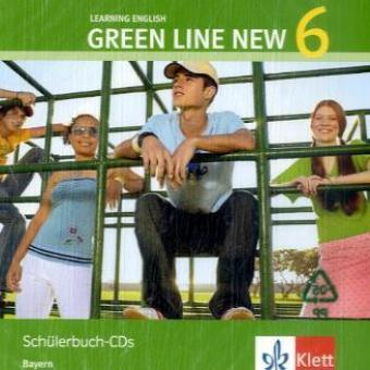 Green Line New 6. Audio CD. Bayern als CD
