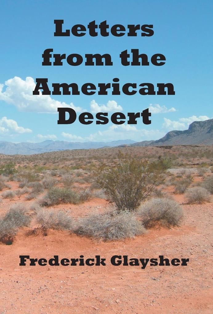 Letters from the American Desert als Buch (gebunden)
