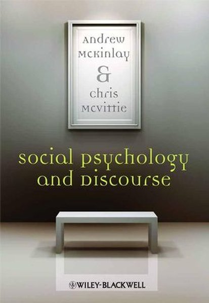Social Psychology and Discourse als Taschenbuch