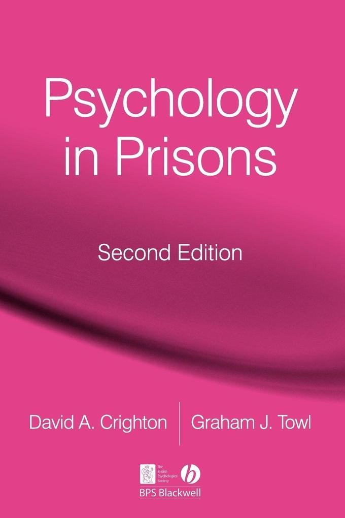 Psychology in Prisons 2e als Taschenbuch