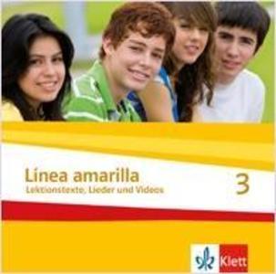 Linea amarilla 3. Schüler Audio-CD als CD
