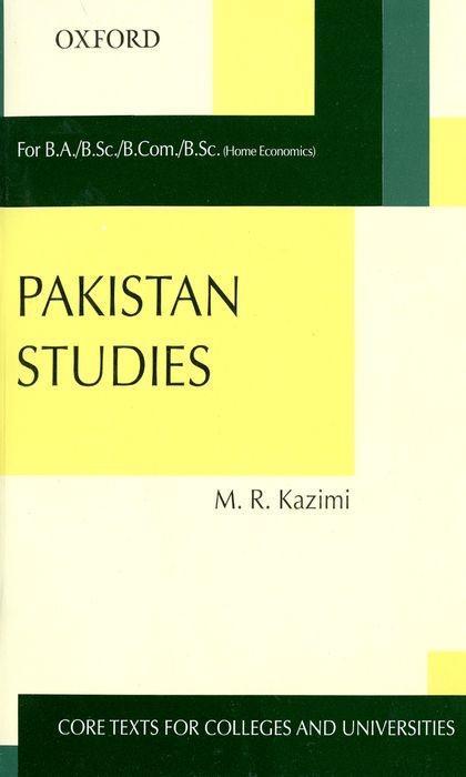 Pakistan Studies als Taschenbuch
