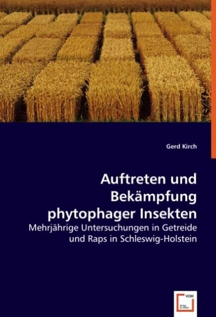 Auftreten und Bekämpfung phytophager Insekten als Buch (kartoniert)