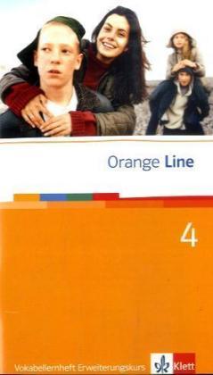 Orange Line 4. Erweiterungskurs. Vokabellernheft als Buch (geheftet)