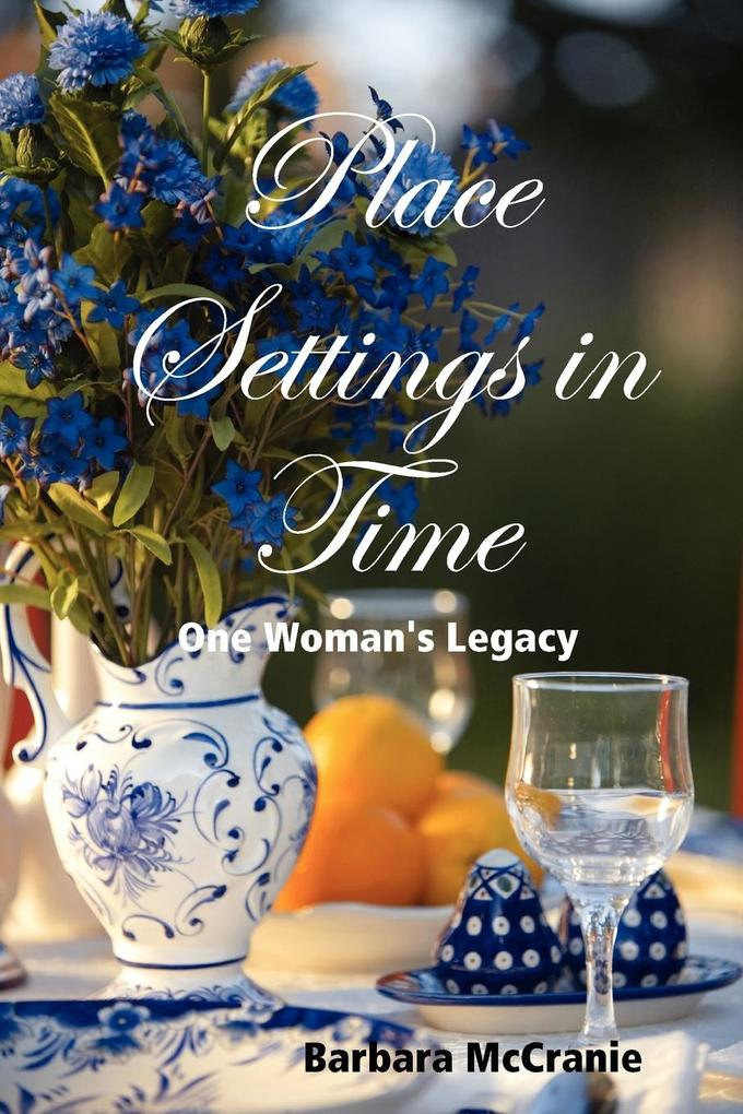 Place Settings in Time als Taschenbuch