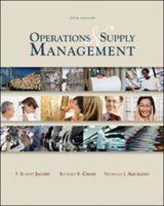 Operations and Supply Management als Buch (gebunden)