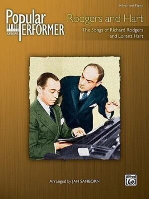 Popular Performer -- Rodgers and Hart: The Songs of Richard Rodgers and Lorenz Hart als Taschenbuch
