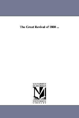 The Great Revival of 1800 ... als Taschenbuch