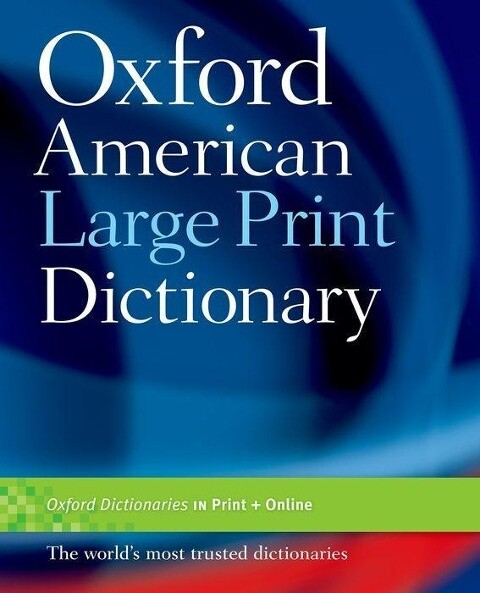 Oxford American Large Print Dictionary als Taschenbuch