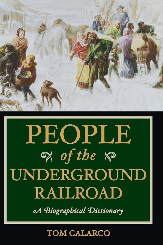 People of the Underground Railroad als Buch (gebunden)