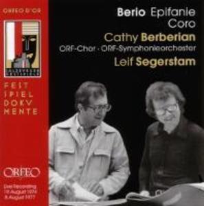 Epifanie/Coro als CD