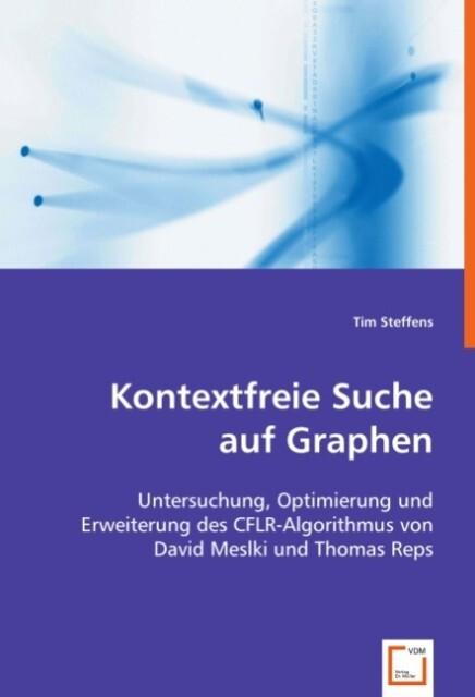 Kontextfreie Suche auf Graphen als Buch (kartoniert)