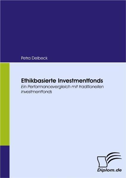 Ethikbasierte Investmentfonds als Buch (kartoniert)