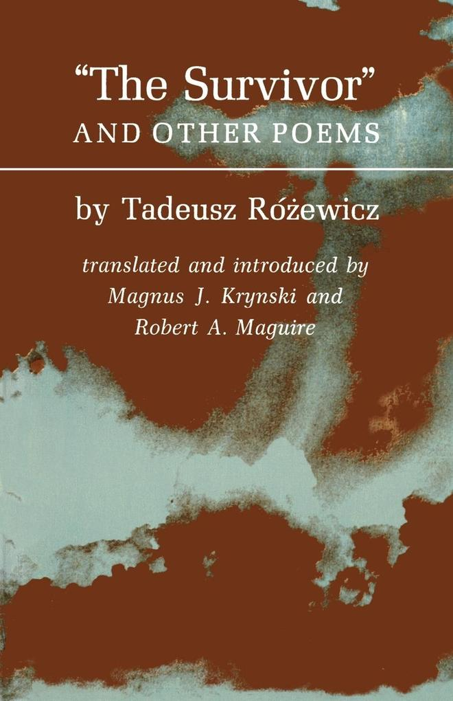 The Survivors and Other Poems als Taschenbuch