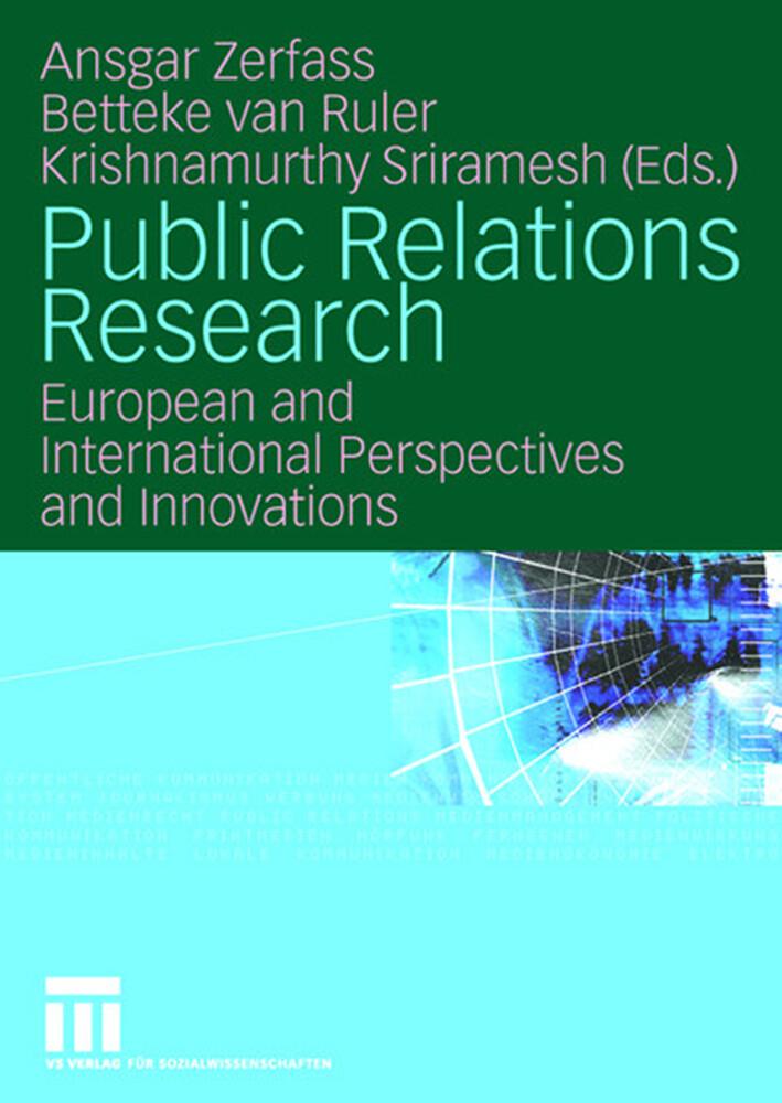 Public Relations Research als Buch (kartoniert)