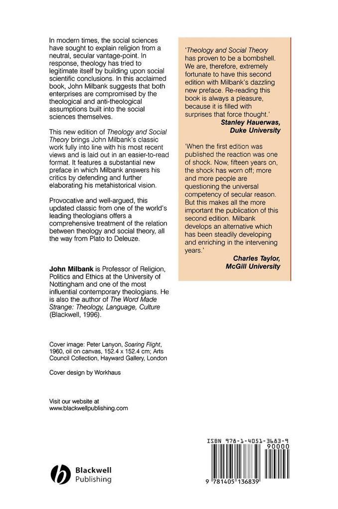 Theology and Social Theory 2e als Buch (gebunden)