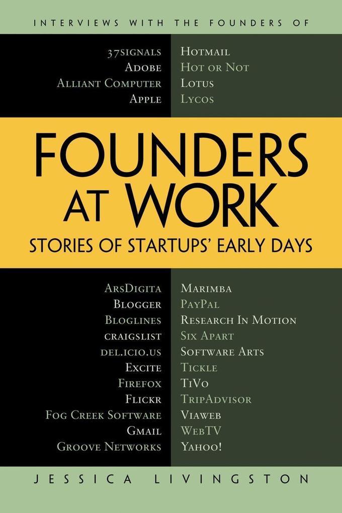 Founders at Work als Taschenbuch