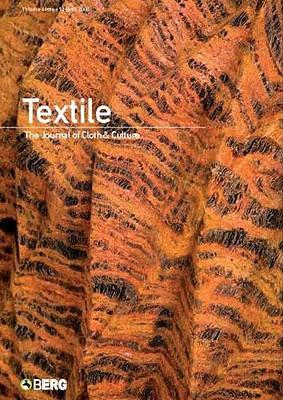 Textile Volume 6 Issue 3: The Journal of Cloth & Culture als Taschenbuch