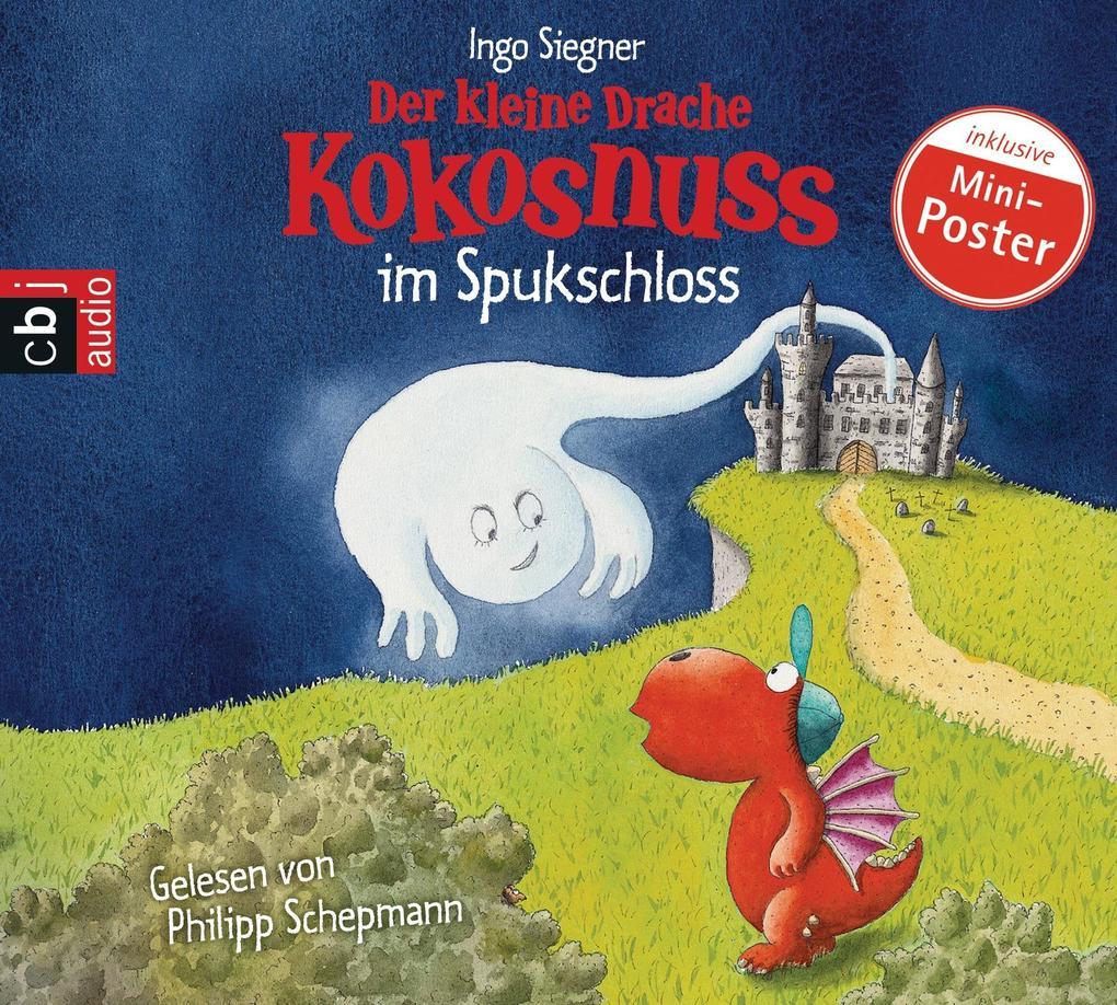 Der kleine Drache Kokosnuss 10 im Spukschloss als Hörbuch CD