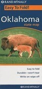 Rand McNally Easy to Fold! Oklahoma State Map