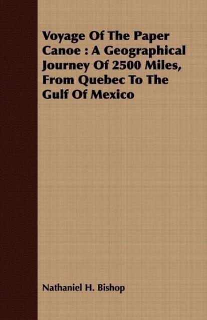 Voyage Of The Paper Canoe als Taschenbuch