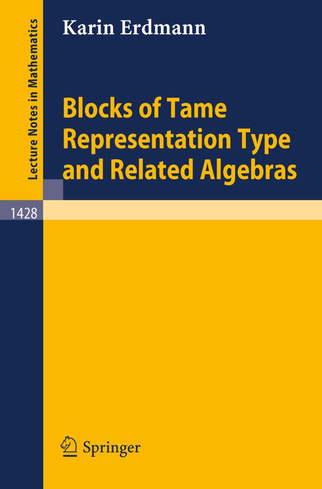 Blocks of Tame Representation Type and Related Algebras als Buch (kartoniert)
