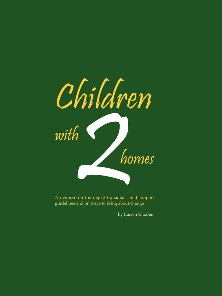 Children with 2 Homes als Taschenbuch