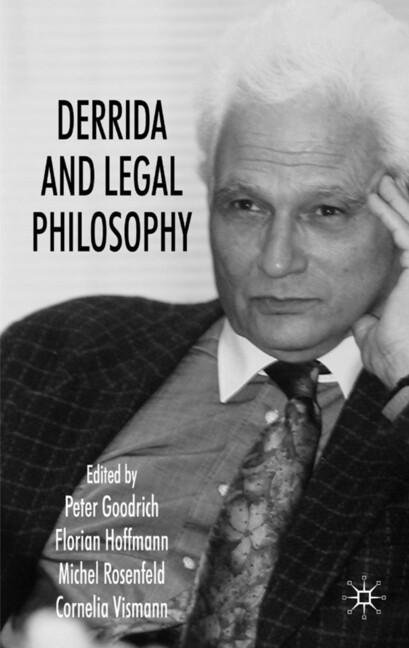 Derrida and Legal Philosophy als Buch (gebunden)