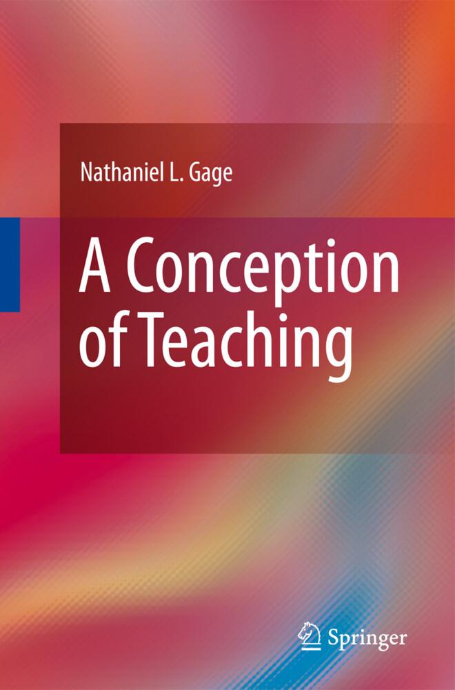 A Conception of Teaching als Buch (gebunden)